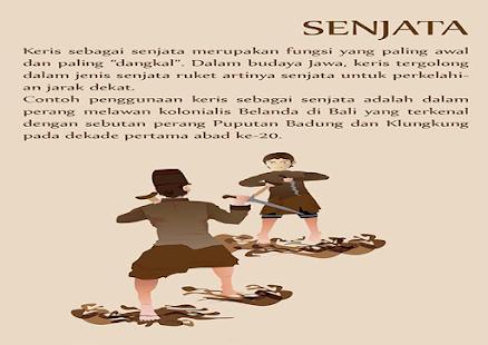 Game keris dalam budaya Jawa - screenshot thumbnail