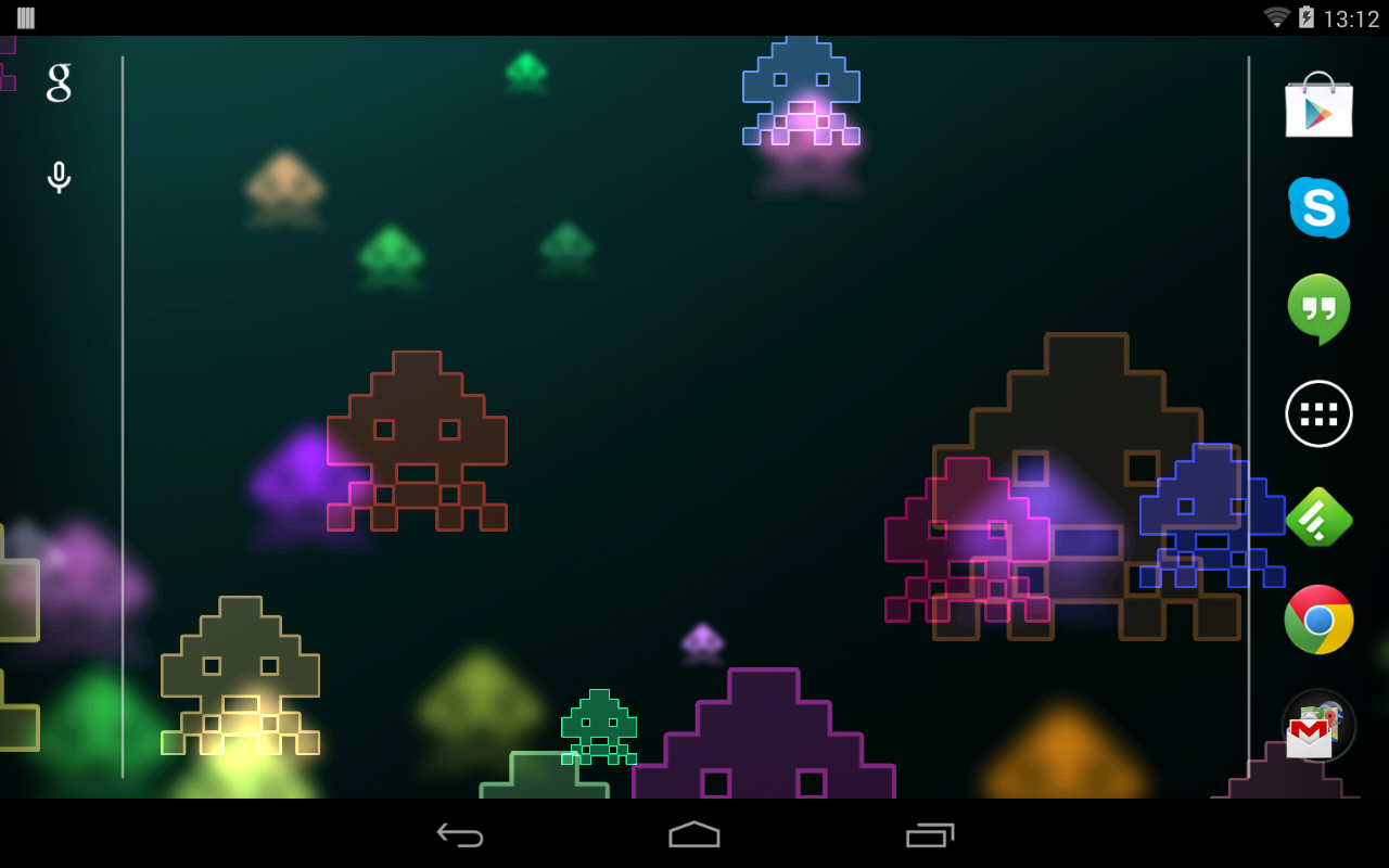 Space Invaders Live Wallpaper- screenshot