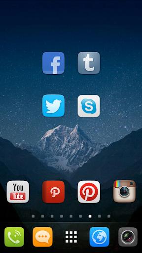 GO Launcher EX UI5.0 theme 2.08 screenshots 3