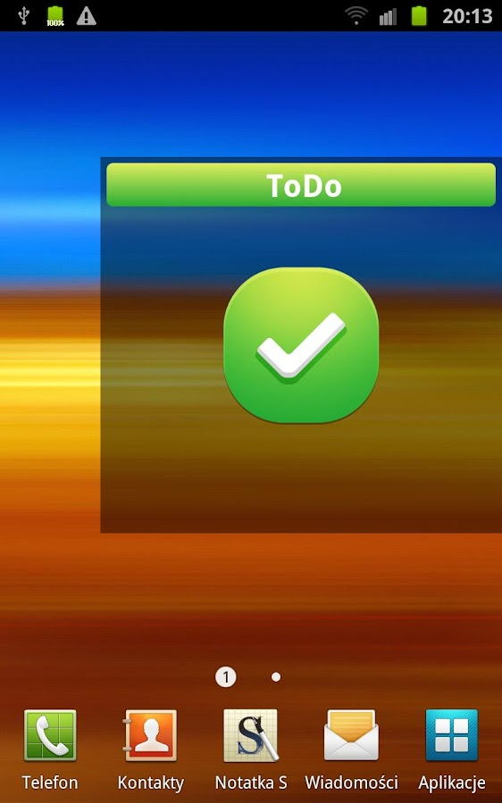 ToDo - Tasks manager - screenshot