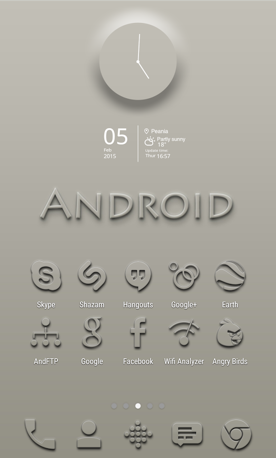 Embossed - Icon Pack - screenshot