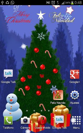 聖誕樹動態壁紙免費下載