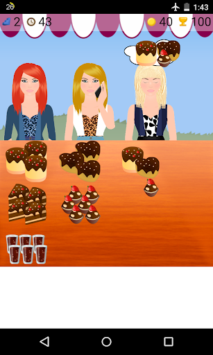 食品市場のゲーム