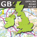 UK Offline Road Map - OS Based icon