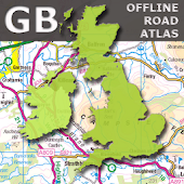 GB Offline Road Map - OS Based