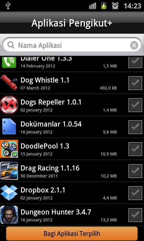 Aplikasi Pengikut- screenshot