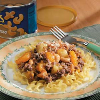 Tropical Beef and Noodles