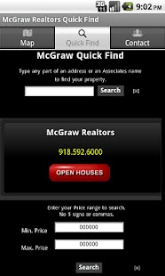 McGraw Realtors Quick Find - screenshot thumbnail