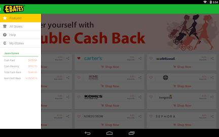Ebates Cash Back & Coupons Screenshot 20