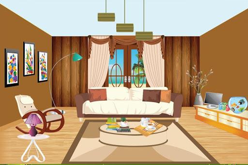 近代的な部屋の装飾