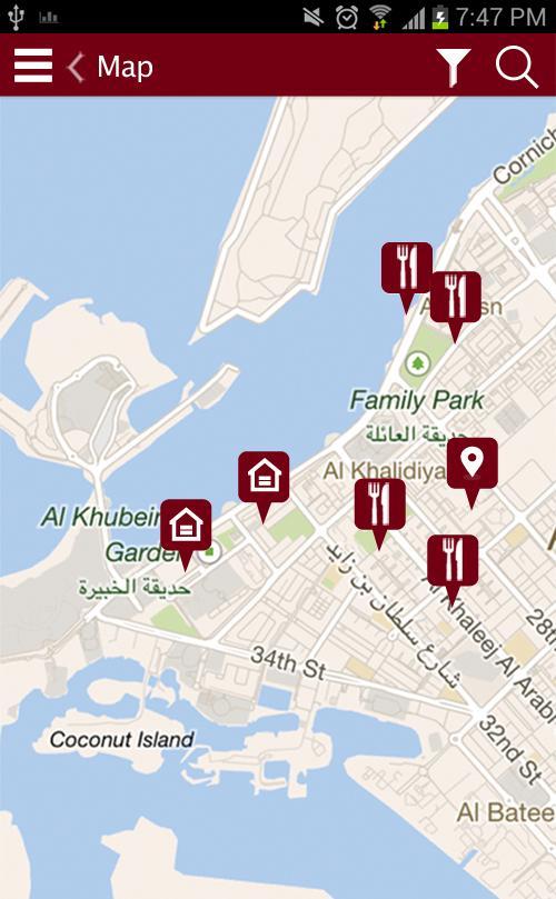 Visit Abu Dhabi - screenshot