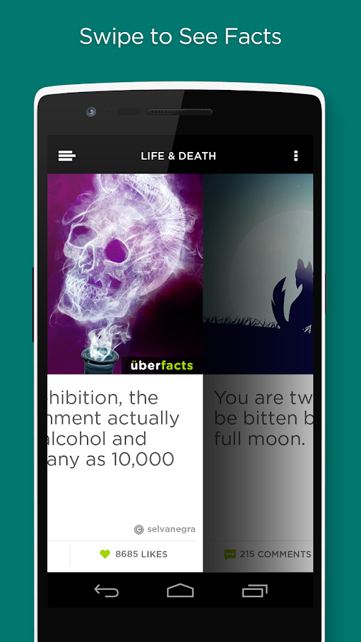 UberFacts- screenshot