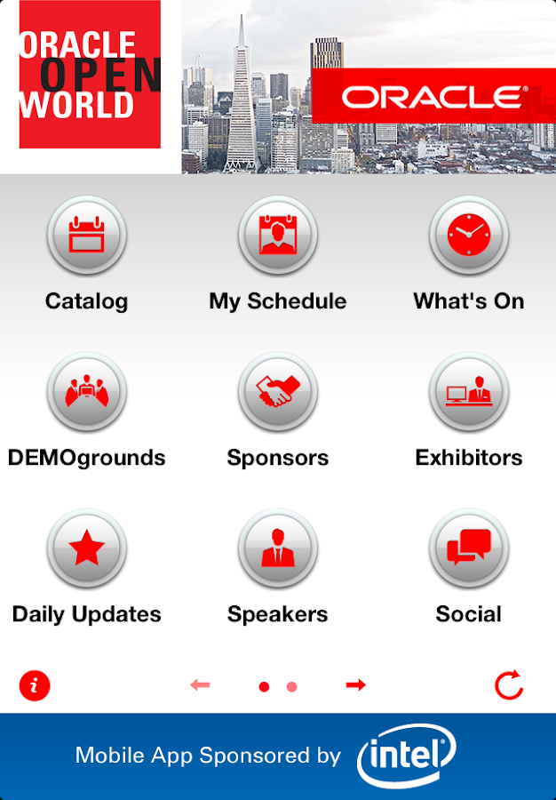 Oracle OpenWorld San Francisco - screenshot