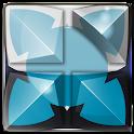 NEXT tema dragão azul claro icon