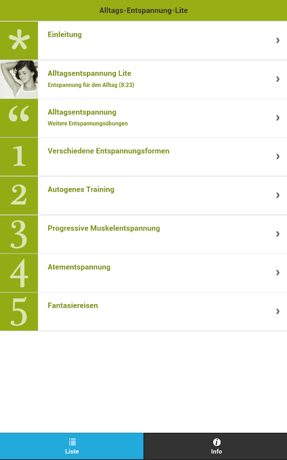 Alltags- Entspannung lite- screenshot