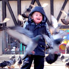 Enjoyment  by Suaib Akhter - Babies & Children Child Portraits