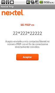 Directorio Nextel - screenshot thumbnail