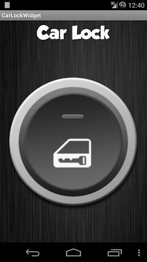 Car Lock Widget