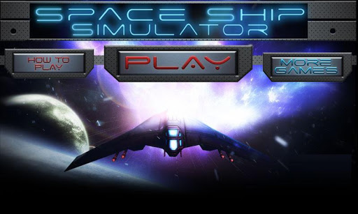 Space Ship 3D Simulator