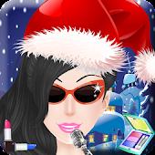 Pop Star Salon Christmas Games