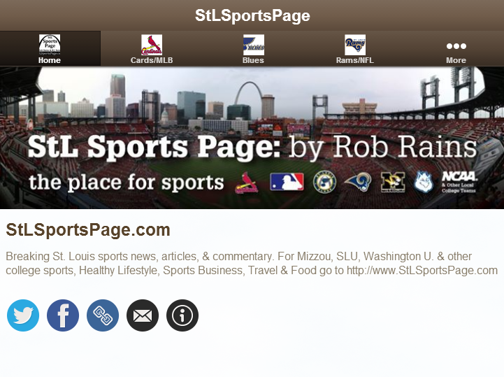 StLSportsPage.com- screenshot