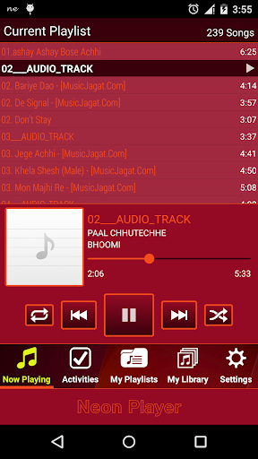 Neon Player - MP3 Music Player