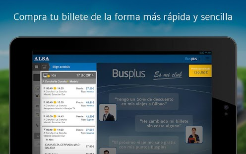 ALSA: compra tu billete de bus – Miniaturansicht des Screenshots