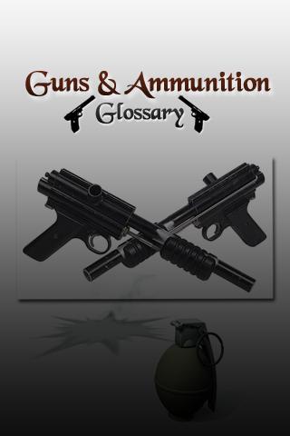 Guns And Ammunition Glossary