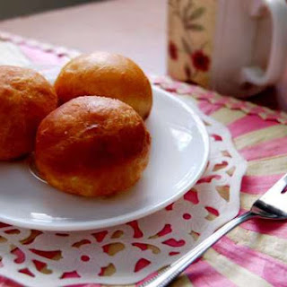 Custard-Filled Beignets.