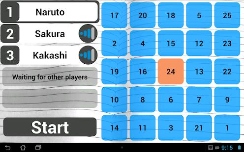 Wi-Fi Bingo Multiplayer - náhled