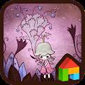 A fairy of flower Dodol Theme icon
