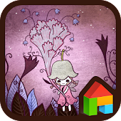 A fairy of flower Dodol Theme