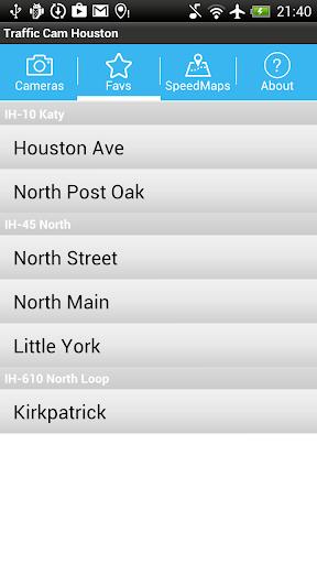 【免費交通運輸App】Traffic Cam Houston-APP點子