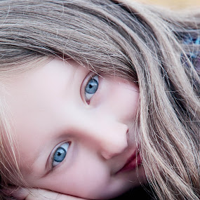 Blue by Louise Lacante - Babies & Children Child Portraits ( children, kids )