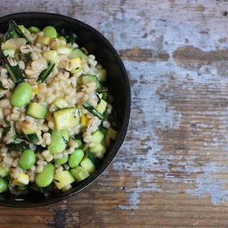 Not Necessarily Vegan Barley Risotto