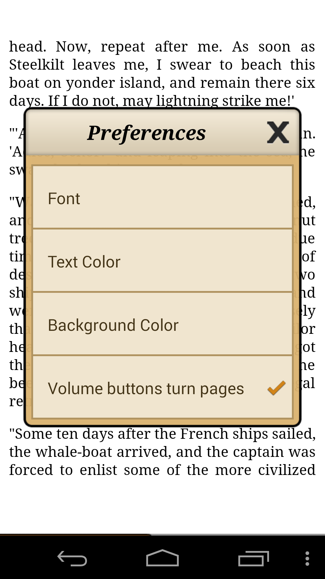 Ebook Reader screenshot #3