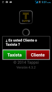 Tappsi Taxista- screenshot thumbnail