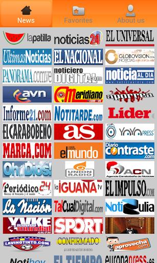Venezuela Newspapers.