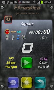 Fitnastica Exercise Counter - screenshot thumbnail