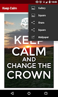Screenshot of Keep Calm
