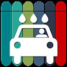 세차장 주차장 주유소 LPG 전기차 EV 충전소 화장실 = 내차 icon