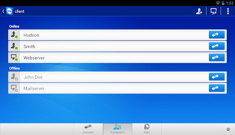 TeamViewer for Remote Control Screenshot 22