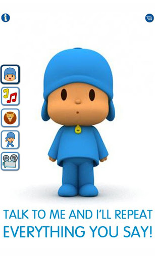 Talking Pocoyo Free 2.0.7.8 screenshots 1