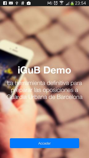 iGuB Demo