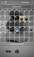 Screenshot of My Warranties Lite