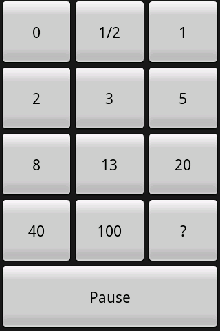 2xPer Planning Poker- screenshot