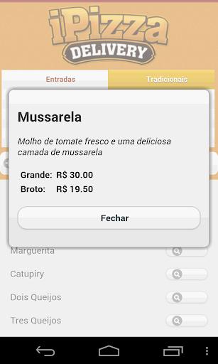 iPizza Delivery  screenshots 2
