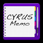 Cyrus Memo