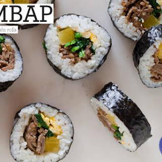 Kimbap.