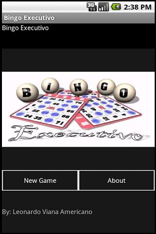 Bingo Executivo - screenshot